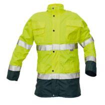 MALABAR jól láthatósági kabát 2 az 1-ben