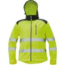 KNOXFIELD softshell jól láthatósági kabát