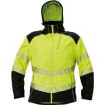 KNOXFIELD PROFI softshell láthatósági kabát