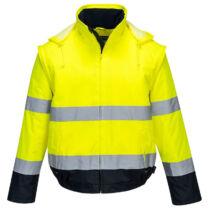 Portwest C464 bélelt jól láthatósági kabát