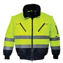 Portwest PJ50 jól láthatósági pilóta kabát 3 az 1-ben