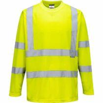 Portwest S178 hosszú ujjú jól láthatósági póló
