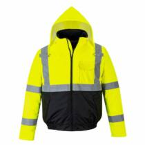 Portwest S363 jól láthatósági bomber kabát