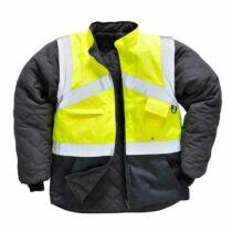 Portwest S769 Jól láthatósági kabát - kifordítható