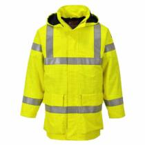 Portwest S774 Jól láthatósági, lángálló és antisztatikus kabát
