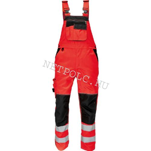 KNOXFIELD FL290 jól láthatósági kantáros nadrág