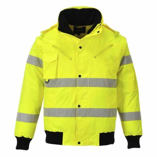 Portwest C467 jól láthatósági kabát 3 az 1-ben