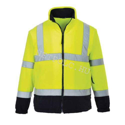 Portwest F301 jól láthatósági polár kabát