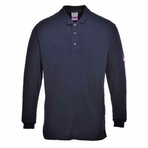 Portwest FR10 Lángálló és antisztatikus galléros póló