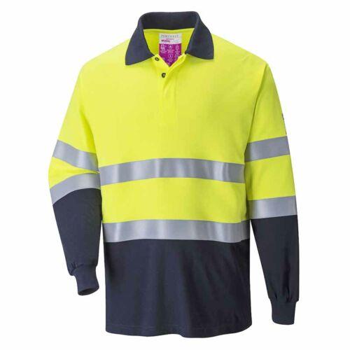 Portwest FR74 Lángálló és antisztatikus jól láthatósági póló