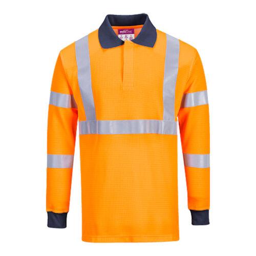 Portwest FR76 Lángálló galléros póló