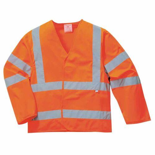 Portwest FR85 Jól láthatósági lángálló és antisztatikus vékony kabát
