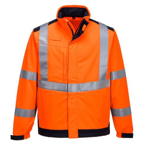 Portwest MV72 lángálló és antisztatikus softshell kabát