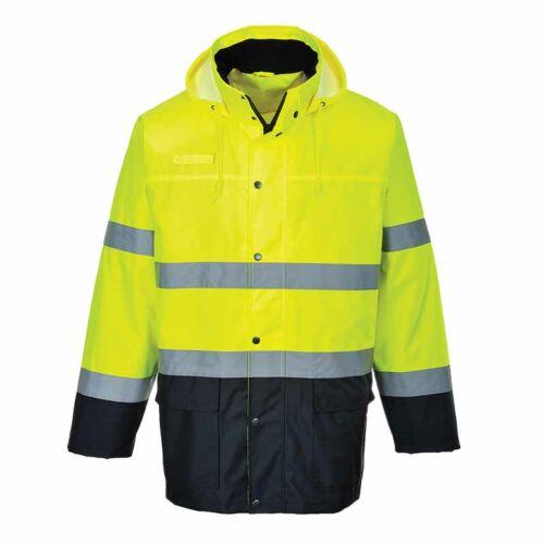 Portwest S166 Jól láthatósági vízálló kabát