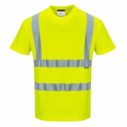 Portwest S170 jól láthatósági rövid ujjú póló
