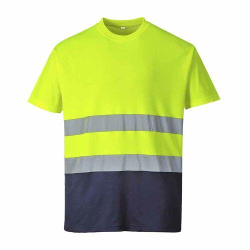 Portwest S173 Cotton Comfort jól láthatósági póló