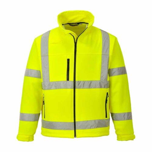 Portwest S424 Jól láthatósági Softshell dzseki