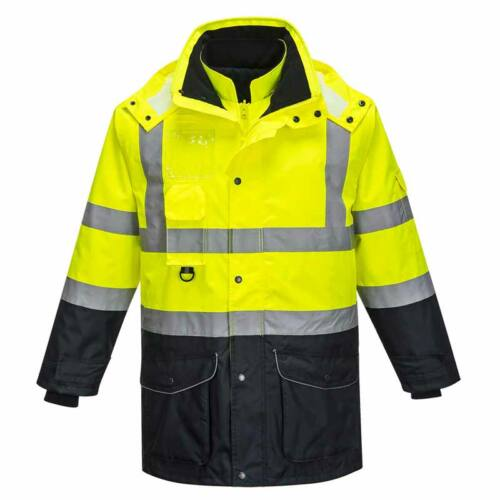 Portwest S426 jól láthatósági kontraszt kabát 7 az 1-ben