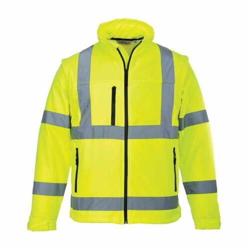Portwest S428 Jól láthatósági Softshell dzseki