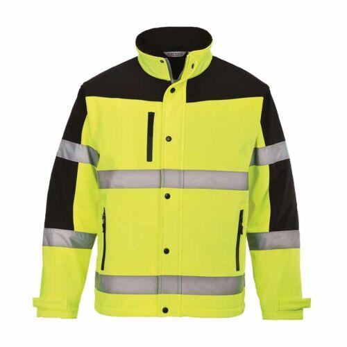 Portwest S429 jól láthatósági Softshell kabát