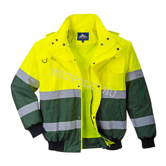 Portwest C565 jól láthatósági Bomber kabát
