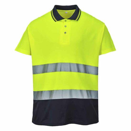 Portwest S174 Cotton Comfort jól láthatósági póló