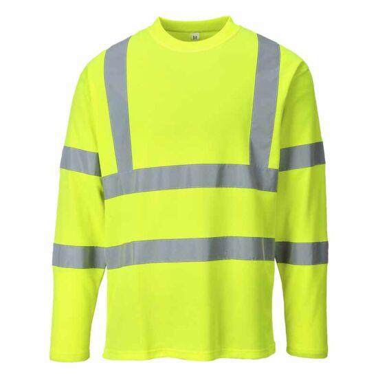Portwest S278 jól láthatósági hosszú ujjú póló