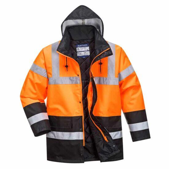Portwest S467 Vízálló jól láthatósági kabát