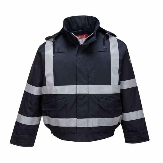 Portwest S783 Lángálló és antisztatikus bomber kabát